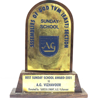 BEST SUNDAY SCHOOL IN TRIVANDRUM SECTION